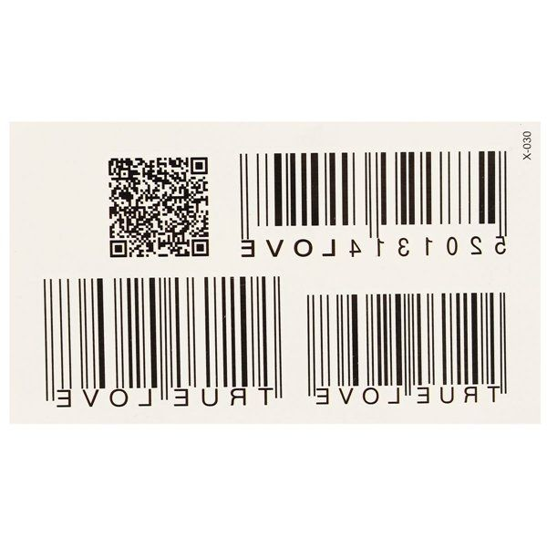 Personalized Waterproof Barcode Totem Tattoos Removable Body Art Stickers at…