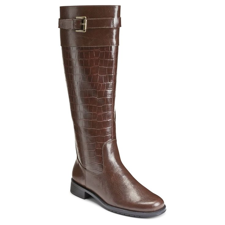A2 by Aerosoles High Ride Women's Riding Boots, Size: medium (7.5), Brown Oth