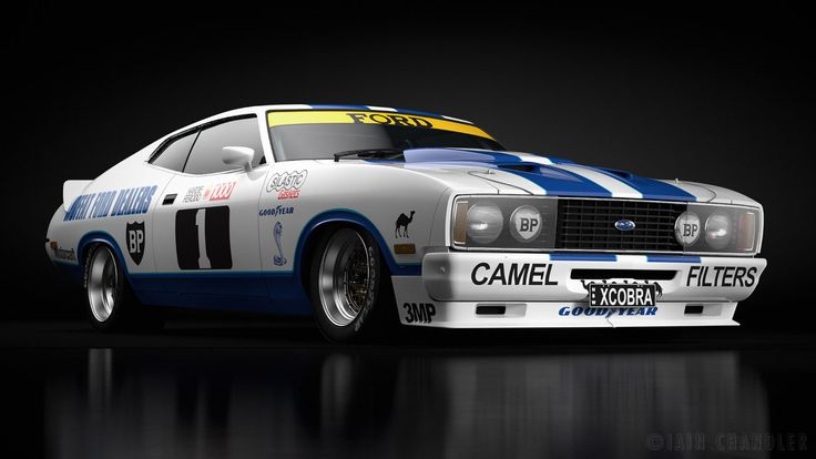 '78 Ford Falcon XC Cobra 1 by The-IC.deviantart.com on @DeviantArt