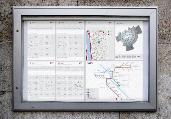 WVV Timetable by Martin Oberhäuser, via Behance