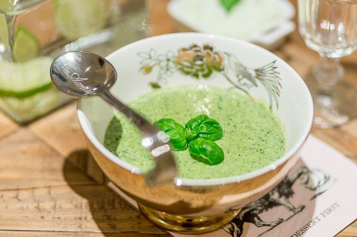 Kremet grønnkålsuppe