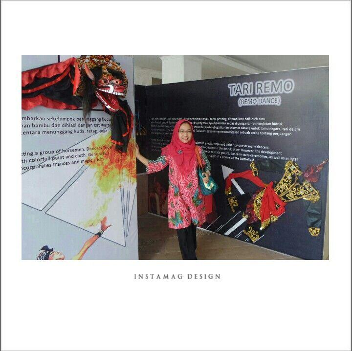Batik tunik from Danar Hadi Bag from Fossil 2015