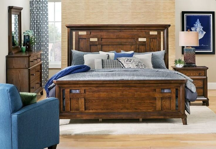 A bedroom set fit for a king or queen. | Bedroom styles ...