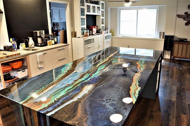 Artisan Concrete Surfaceworks Epoxy Countertops Houston