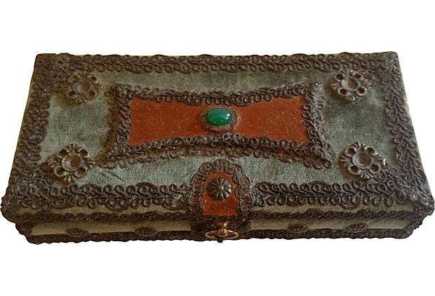 Venetian Velvet Box on OneKingsLane.com