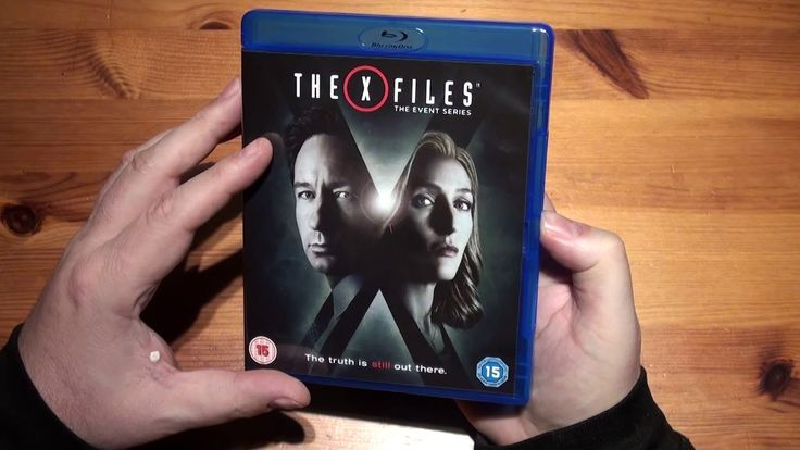 X Files The Event Series [Blu-ray]  Unboxing