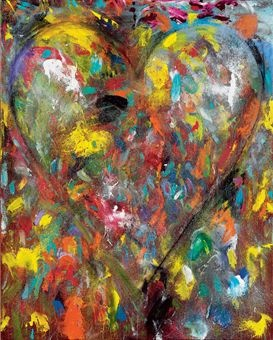 Jim Dine, The Cold Shines Through, 2005