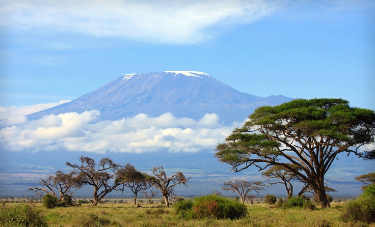Mount Kilimanjaro... yes, please.