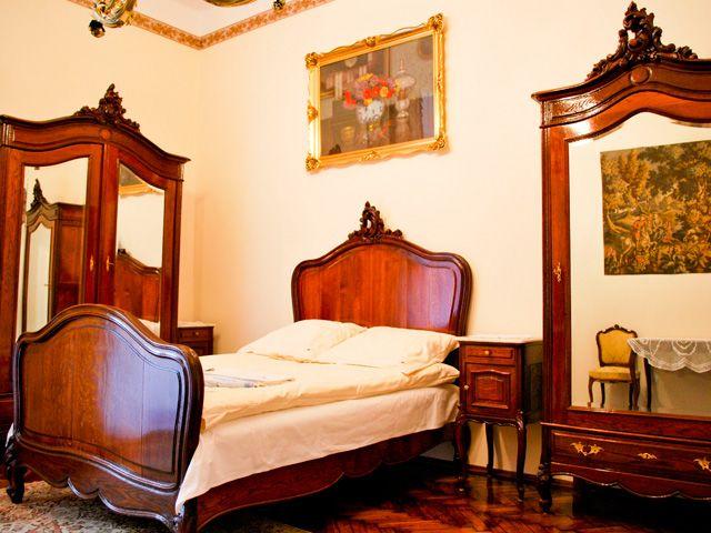 Apartamento noble II. Romántica habitación para dos personas.