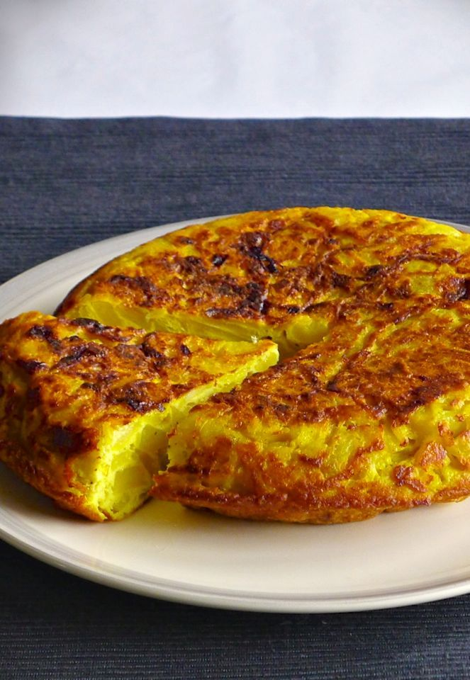 TORTILLA ESPAÑOLA (SPANISH OMELETTE) : breakfast, brunch, potatoes, vegetarian
