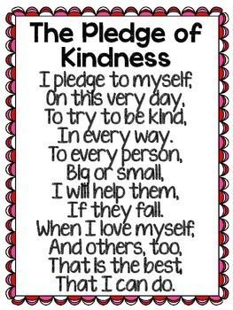 Teaching Toddlers Thursday >> The Pledge of Kindness | The o'jays, Reading and Student