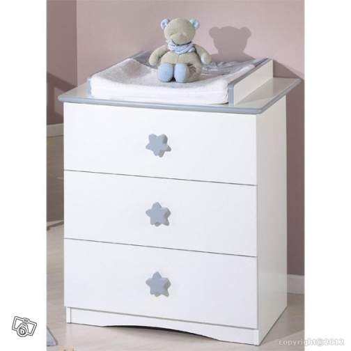 Commode sauthon avec table langer leboncoin 200e - Table a langer compact ...