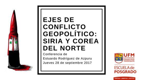 28/09/2017, 19h, EN-601, UFM, Con E. Rodríguez Azpuru.