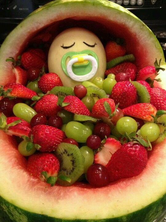 Baby Shower Fruit Salad Part - 21: Baby Shower Fruit Salad
