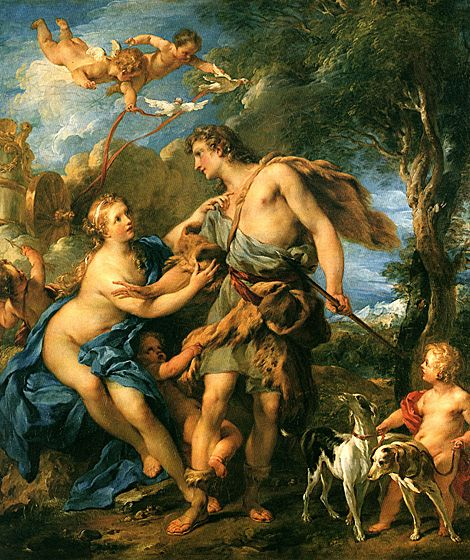 Aphrodite and Adonis: Adoni, Françoi Lemoyn, Artists, Aphrodite, Legends, Francois Lemoyn, Beautiful, Greek Mythology, Venus
