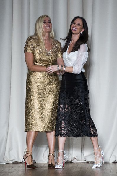 Georgina Chapman Photos: Marchesa: Runway - London Fashion Week SS15