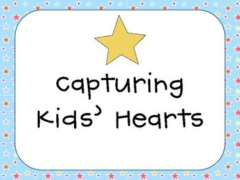 """Capturing Kids Hearts """"Star"""" Classroom Pack"""