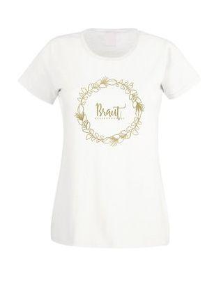 Süßes T-Shirt für die #Braut auf ihrem Junggesellenabschied!