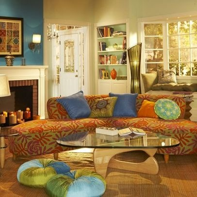 17 Best Images About Orange Teal Green Decor On Pinterest Orange Living Rooms Turquoise And Drums