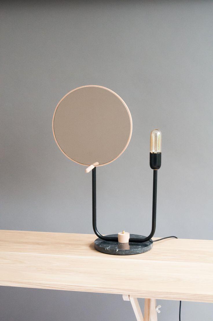 Bronze Mirror Lamp