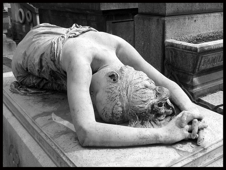 Beautiful. But sad.... Montmartre Cemetery