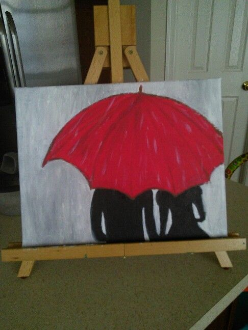 17 best ideas about canvas art on pinterest diy canvas for Red canvas painting ideas
