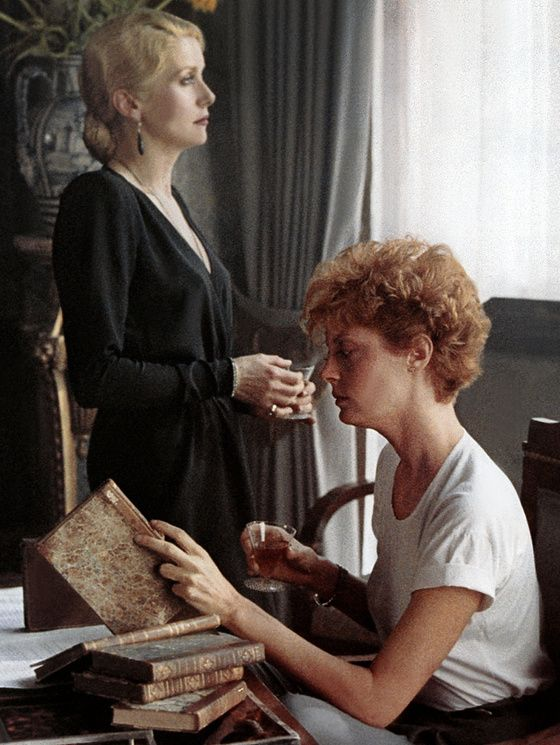Catherine Deneuve & Susan Sarandon in « the hunger » directed by  Tony Scott