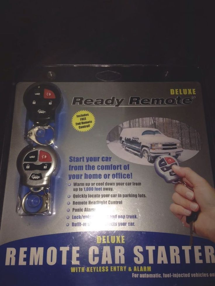 Deluxe Remote Car Starter Module New Must Have for Winter | eBay