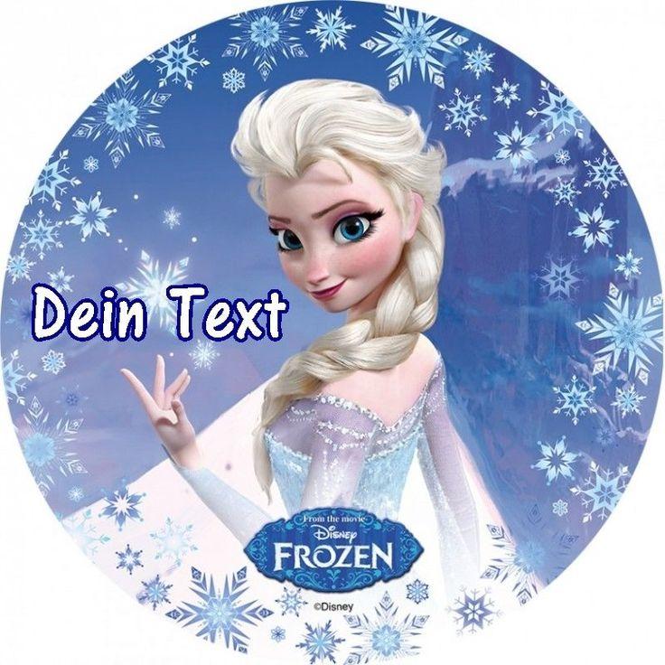 Tortenaufleger Frozen Elsa Anna Olaf Prinzessin DVD NEU Eiskönigin mit Namen cd