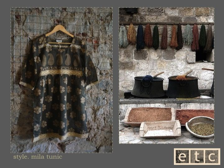 Natural Dyes | Mila tunic