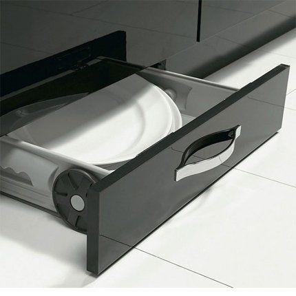 Un tiroir socle pour une petite cuisine conforama lieux for Petite table cuisine conforama