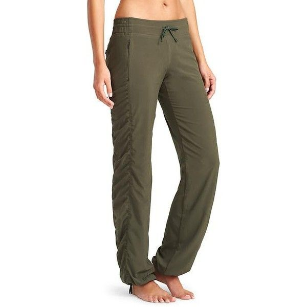 Athleta Women Lined La Viva Pant Size 0 ($98) ❤ liked on Polyvore featuring green, athleta sportswear, petite activewear pants, petite sportswear, athleta and petite activewear