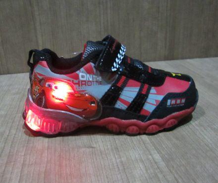sepatu anak Disney Cars CL022BR  Disney cars shoes