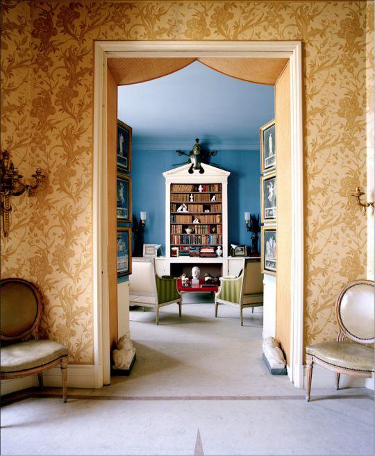 London Home Of Interior Designer Michael Inchbald 1920 2013 Photo Christie S Com Style