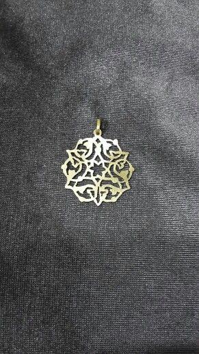 Kıl testere denemeleri lll. - fret saw - brass jewelry -  brass necklace #handmade #oyaca #oyalanmaca