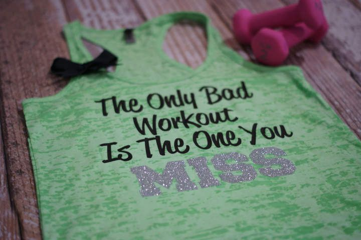 Etsy The Only Bad Workout Is The One You Miss - workout tank. gym shirt. inspirational shirt. quote tank. #sneakers #sneakersaddict #kicks #Sports #runningculture #nike #adidas #adidaseqt #orologio  #shoes #accessories #supreme #girls #cute #fashion #friends #style #love #kicks #boots #jordans #shop #heels #shoesaddict #mylook #fashionshoes #shoeslover #shoeslovers #shoeswag #Womens #Fitness #Gym #Work Out #Workout #Running #Cardio #Leggings #Fitnessfashion #Sports #Bra #Sportsbra #Active…