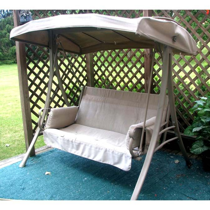 Charm 2 Person Swing Replacement Canopy S05293 For The