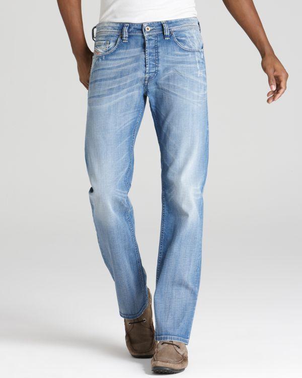537dd2c1 Diesel Larkee Relaxed Straight Leg Jeans #MensJeans | Mens Jeans