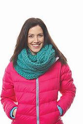 Free pattern on Ravelry: Infinity Scarf pattern by Loops & Threads™ Design Team