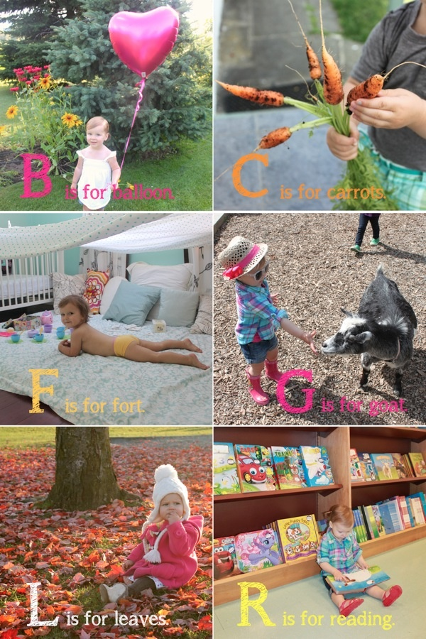 For the next photo book? Alphabet Book. Make when shutterfly gives away a free photo book!