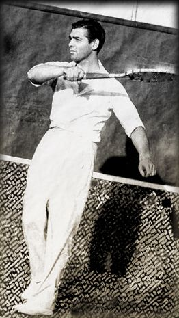 Clark Gable (playing tennis)