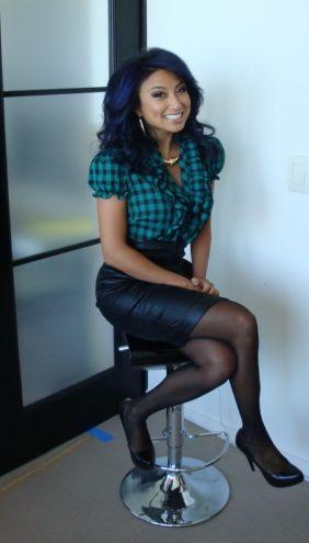 Jeannie Mai- love her style.