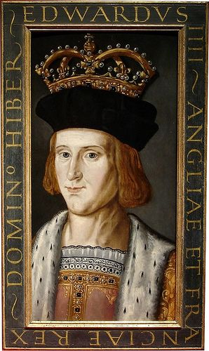 Edward IV, Father of Elizabeth of York, maternal grandfather of Henry VIII, Arthur, Margaret, and Mary Tudor