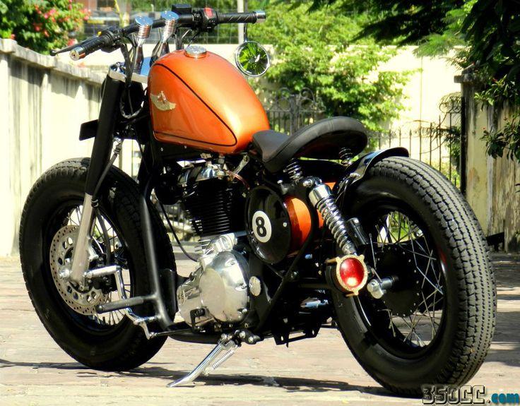 Custom+Bobber+Motorcycles   ball-rajputana-custom-motorcycle-bobber-using-royal-enfield-india10 ...