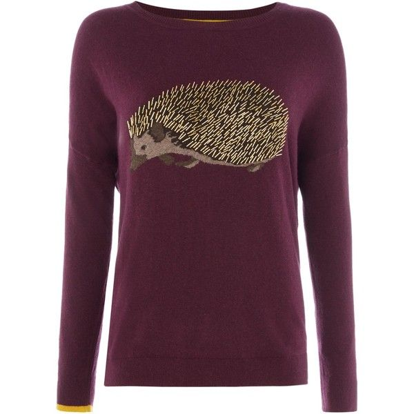 Joules Dropped Shoulder Intarsia Jumper ($81) ❤ liked on Polyvore featuring tops, sweaters, sale women knitwear, joules tops, purple jumper, cotton sweaters, drop-shoulder tops and joules jumpers