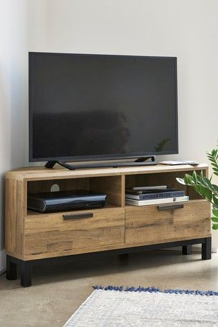 Bronx Corner TV Stand   Ideas for the House in 2019   Corner tv ...