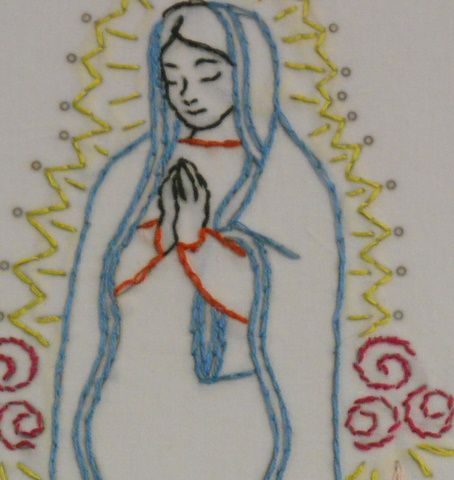 11 best our lady of guadalupe images on pinterest virgin for Our lady of guadalupe arts and crafts