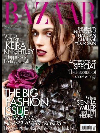 Harper's Bazaar UK Sept12 cover
