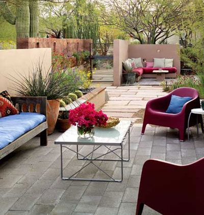 southwestern homes with courtyard photos   Desert Oasis - MyHomeIdeas.com