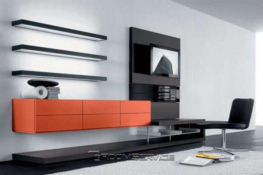 People Designer Wall Unit by Pianca